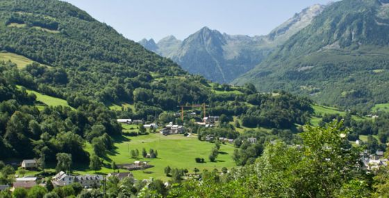 The Luz-Saint-Sauveur valley